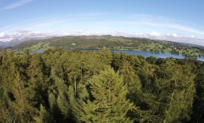 Grizedale Forest from the Air