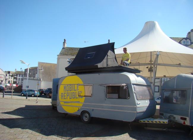 Residency - The Black Tent & the Loft