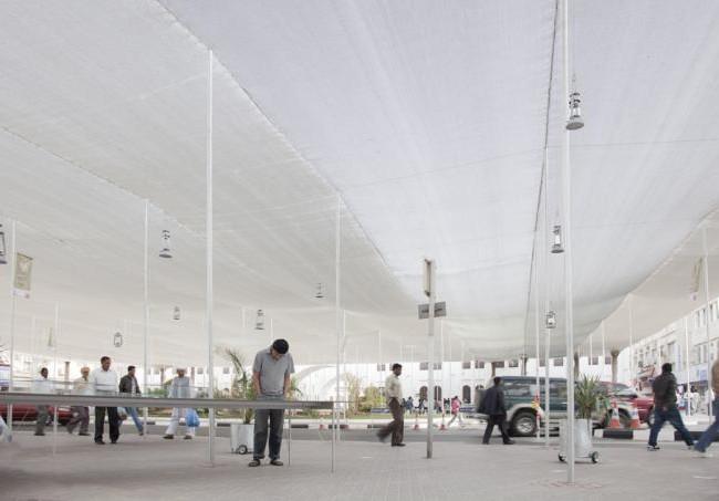 Bab al Bahrain Pavilion by Bureau A