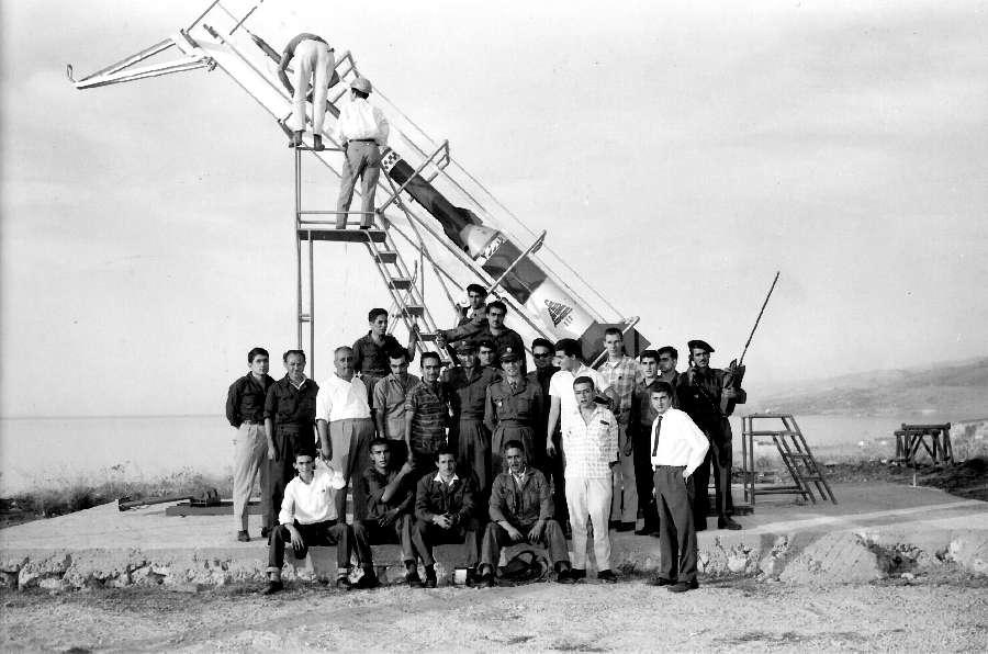 Lebanese Rocket Society - souvenir photograph