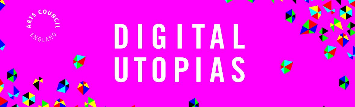 Digital utopias with ACE logo