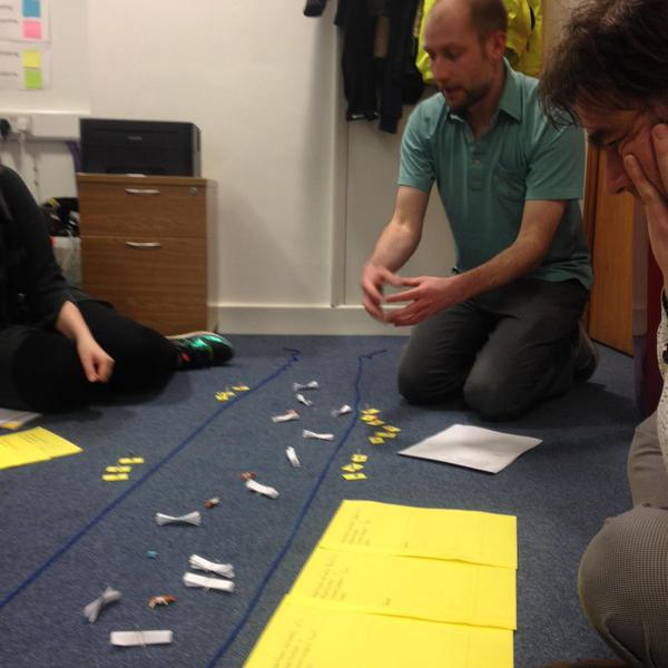 Getting competitive, game prototyping in the AND Office