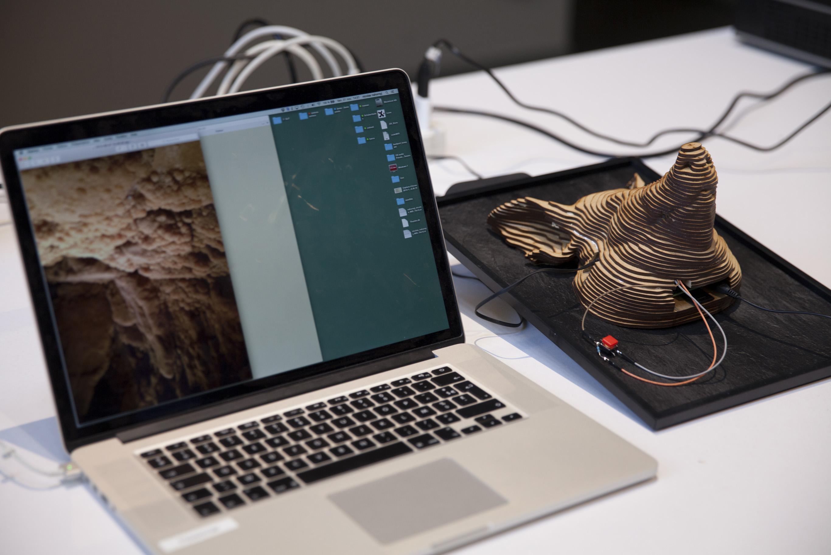 Image from 'Botcave Workshop' with Matthew Plummer Fernandez, ÉCAL, Lausanne, 2014